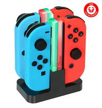 Nintendo Switch Controller Ladegerät Joy-Con Ladestation Led