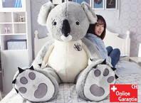 XXL Koala Bär Plüschbär Plüschtier Kuscheltier 140cm Grau Pink Geschenk Kind Kinder Frau Freundin