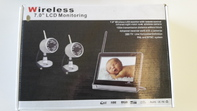 Wireless 7.0 LCD Monitoring with remote Control