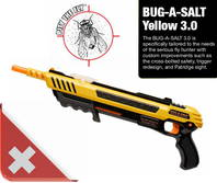 BUG-A-SALT 3.0 Bug a Salt Flinte Fliegen Jagd Fliegenkiller Salz Gewehr Schrotflinte Salzgewehr Luftdruckgewehr gegen Insekten Fliegenklatsche