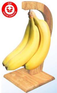 Bananen Frucht Obst Halter Bananenständer Bananenhalter Gemüse Ständer Halt Holz Geschenk Weihnachten