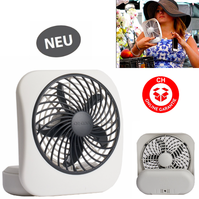 Batterien Ventilator Fan Mobil Klappbar Büro Outdoor Indoor Camping