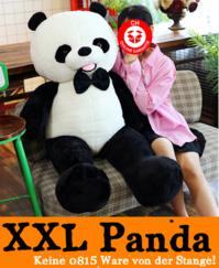Biete: Panda Bär XXL Pandabär Plüschbär Schwarz Weiss Teddy 150cm Geschenk Kind Kinder Frau Freundin 1.5m / Neu Weihnachten