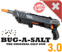 Bug-A-Salt 3.0 Salz Gewehr Pistole gegen Fliegen Mücken Sommer Salzgewehr Fliegenklatsche Schweiz