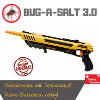 Bug-A-Salt 3.0 Salz Gewehr Pistole gegen Fliegen Mücken Sommer Salzgewehr Fliegenklatsche / Neu