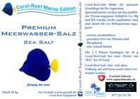 Coral- Reef Premiumsalz, 25 Kg. Karton