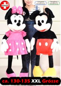 Disney Micky Maus und Minnie Maus XXL Plüschtier Plüsch Maus Disney Geschenk Kinder
