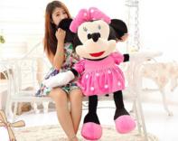 Disney Minni Minnie Maus Plüsch Plüschtier Minerva 130cm XXL Gross Geschenk Kinder