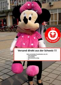 Disney Minnie Maus Plüsch Tier Plüsch XXL 130 cm Geschenk Mädchen Pink