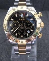 Edle BMW Auto Edelstahl Uhr Armbanduhr Fan