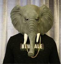 Elefanten Maske Elefant Elefantenmaske Tiermaske Schweiz Fasnacht Party Halloween Kostüm
