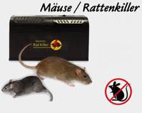 Elektronische Rattenfalle Mäusefalle Ratten Ratte Maus Mäuse Falle Killer ungiftige Schädlingsbekämpfung