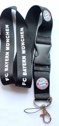 FC Bayern München Schlüsselband Schlüsselanhänger FCB Fan Geschenk Shop
