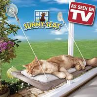 Fenster Katzenliege Katzensitz Sitzplatz Katze bekannt aus TV