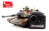 Ferngesteuerter Panzer Tank RC Airsoft Softair BB Kugeln Schiess Funktion Camouflage Komplettset Spielzeug ca. 41cm XL Grösse