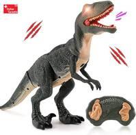 Ferngesteuerter Velociraptor RC Raptor Infrarot Spielzeug Kind Kinder Dinosaurier Dino Park Jurassic Geschenk Kind Kinderzimmer Weihnachten