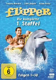 Flipper kommt zurück - Die Kultserie der 60er auf 4 DVDs