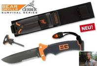 GERBER Bear Grylls Ultimate Knife Messer SURVIVOR ÜBERLEBEN TEILWELLENSHLIFF NEU Outdoor Jagd
