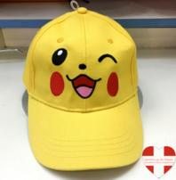 Gelbe Pokémon Pikachu Cap Kappe Mütze Sommer Fan Videospiel Kino TV