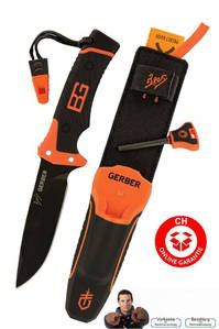 Gerber Bear Grylls Ultimate Pro Fixed Blade Messer Outdoor Jagd bekannt aus DMAX TV Kult