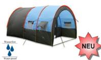 Grosses Tunnel Zelt Partyzelt Hauszelt Camping Openair für ca. 5-8 Personen Schlafabteil