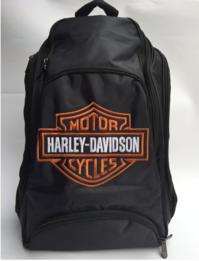 Harley-Davidson Harley Rucksack Fan Schwarz Biker Reisen Outdoor Geschenk Fanshop
