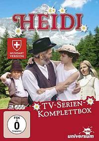 Heidi auf Mundart - Die TV Serie von 1979 auf 4 DVD