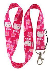 Hello Kitty Hellokitty Katze Schlüssel Anhänger Schlüsselband Mädchen Geschenk Pink Rosa