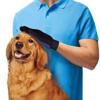 Hunde Hund Tierhaar Handschuh Tierhaarentferner massiert TV HIT
