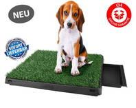 Hundeklo für Zuhause Balkon Welpen Hunde Klo WC Toilette Welpenklo Hundetoilette