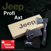 Jeep Axt Beil Outdoor Fan Survival Camping Wildnis mit Nylonhülle und Gurtschlaufe Fanartikel