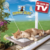 Katzenliege Fensterliege Sunny Seat Katze Bett Liege TV Hit NEU
