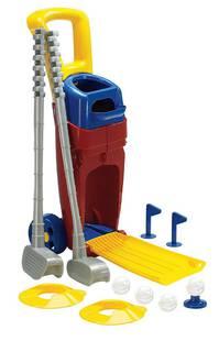 Kinder Mini Golf Spielzeug Junior Set Schläger Ball Golflöcher Draussen Outdoor