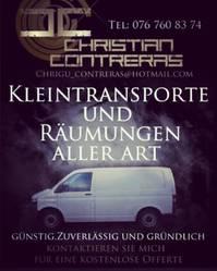Kleintransporte Warentaxi Transporttaxi Möbeltaxi Bern Thun Biel
