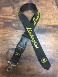 Lamborghini Schlüsselanhänger Schlüssel Anhänger Band Schlüsselband für Herren & Damen mit Logo Fan