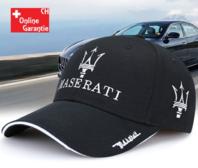 Maserati Cap Fan Mütze Baseballcap Kappe Schwarz Baumwolle Accessoire