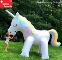 Mega Einhorn Sprinkler Wasser Spielzeug Sommer Garten Kinder Wasserspielzeug Badi Pool Schweiz Mädchen Kind Urlaub Ferien
