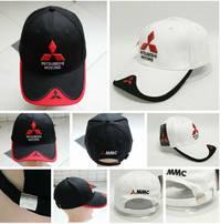 Mitsubishi Motors Auto Fan Kappe Mütze Baseballkappe Cap in 2 Farben Fanshop