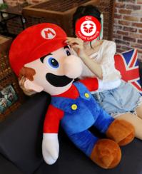 Nintendo Super Mario XXL Plüsch Figur Plüschtier Geschenk Kind Fan Rot Supermario Bros. Videospiel