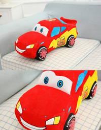 Original Disney Cars Lightning Mc Queen Plüsch Figur Auto Stofftier 55cm Grosses Plüschtier Geschenk Kinder Kinofilm