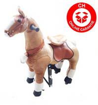 Pferd Pony zum Reiten für Kinder Kinderzimmer Spielzeug Mädchen Geschenk Kinder Kind Pferdeschauke Schweiz Wallis