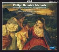 Philipp Heinrich Erlebach - Geistliche Musik auf 2 CDs