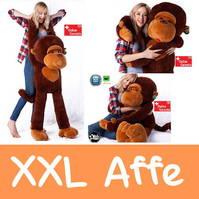 Plüsch Affe Plüschaffe Monkey 1.3m XXL Geschenk Plüschtier Kuscheltier Geschenk Weihnachten