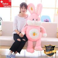 Plüschtier Hase Plüsch Kaninchen Stofftier Plüschhase 150cm Liebe ILY Geschenk Pink Frau Freundin Kind Mädchen