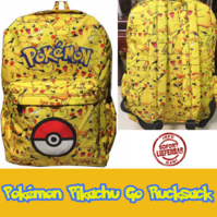 Pokémon GO Rucksack Pikachu Kindergarten Primarschule Kind Kinder Fan TV Videospiel Game Kino