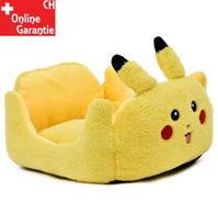 Pokémon Pikachu Katze Katzenbett Schlafplatz Hunde Hundebett Tierbett Tier Bett Schlafplatz Gelb Fanartikel