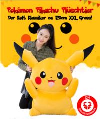 Pokémon Pikachu Plüsch Pokemon Plüschtier 120cm XXL Geschenk Gross Kinder Freundin