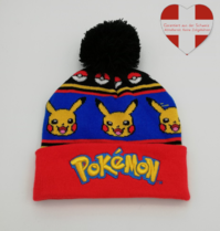 Pokémon Pokemon Go Winter Strickmütze Beanie Mütze Kind Kinder Fan