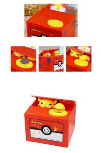 Pokémon Spardose Pikachu Münz Geld Sparschwein Geschenk Hit