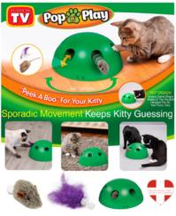 Pop' N Play Katzen Spielzeug Katzenspielzeug Indoor Zuhause Katz Feder Maus Spielzeug Unterhaltung Schweiz TV Werbung